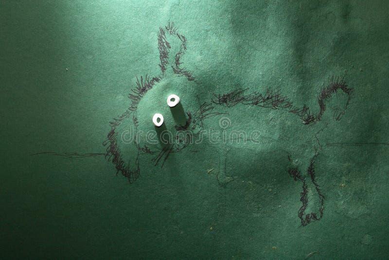 Собака отдыхает стоковое фото