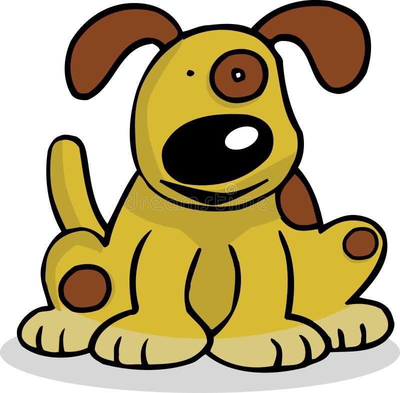 собака счастливая бесплатная иллюстрация