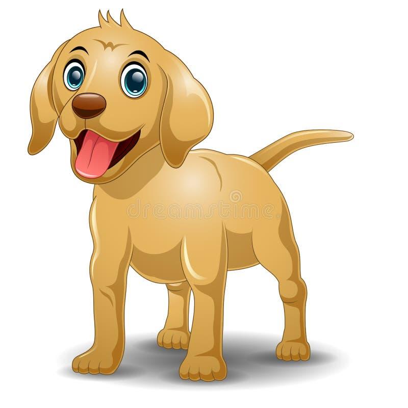 собака шаржа смешная иллюстрация штока
