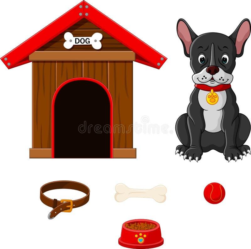 собака шаржа бесплатная иллюстрация
