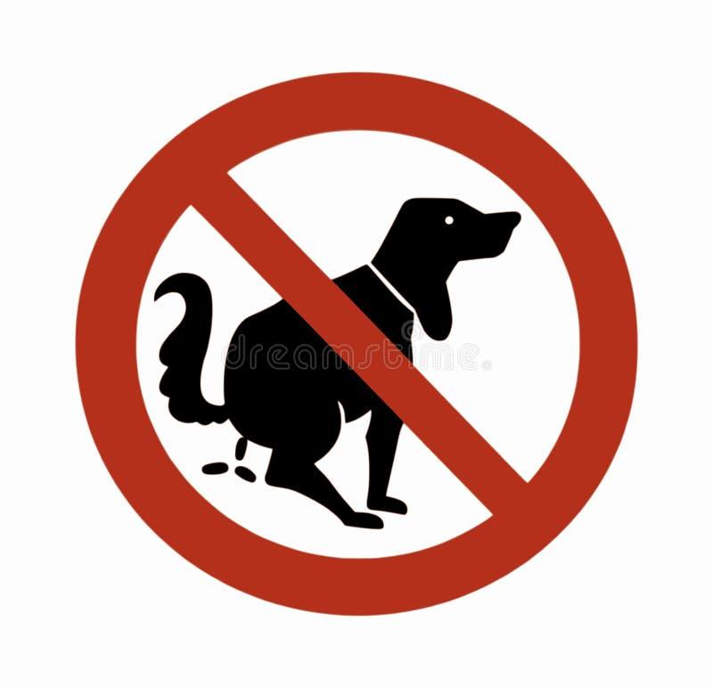 Собака 01 знака иллюстрация вектора