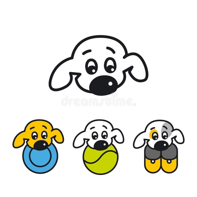 Собака buddings r o стоковое изображение