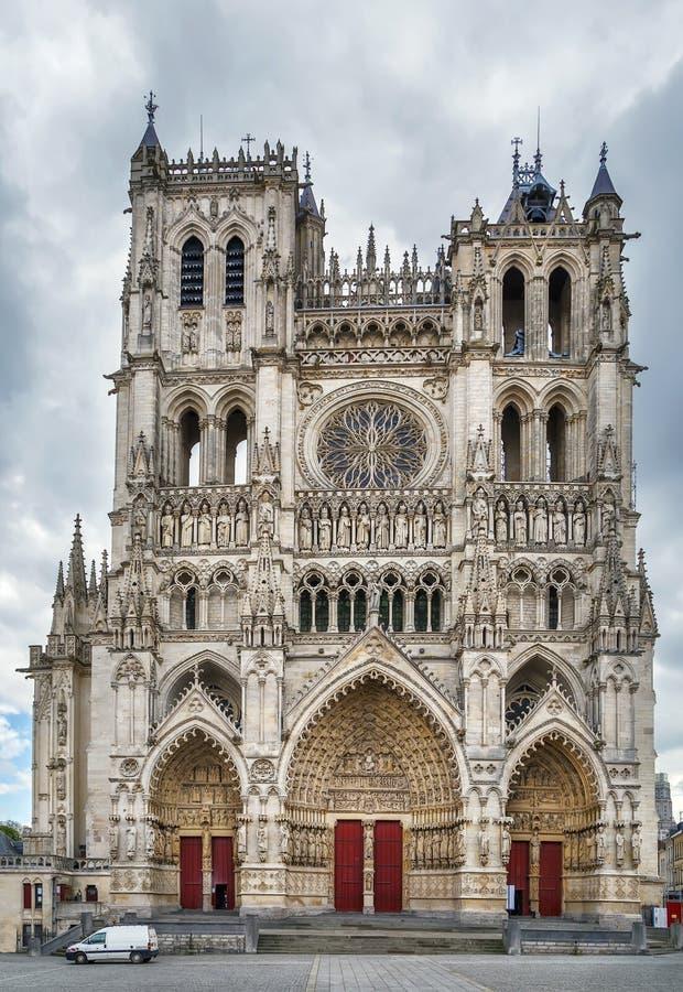 Собор Амьена, франция стоковое изображение