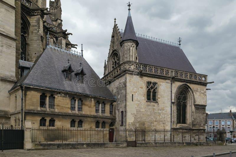 Собор Амьена, франция стоковое изображение rf
