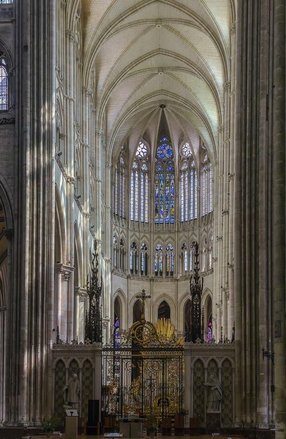 Собор Амьена, франция стоковые изображения rf