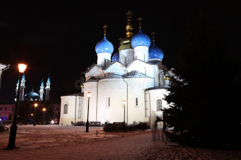 Собор аннунциации в Казани Кремле - outstand стоковое фото rf