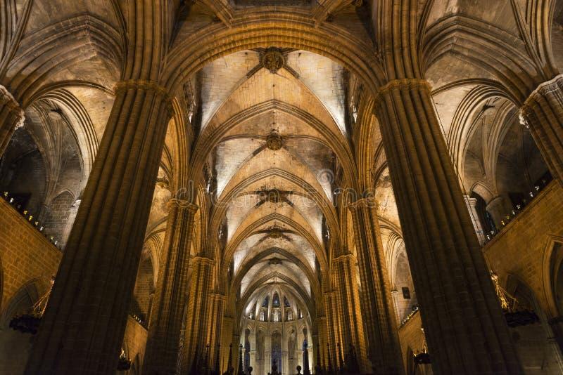 Собор Барселоны стоковое изображение