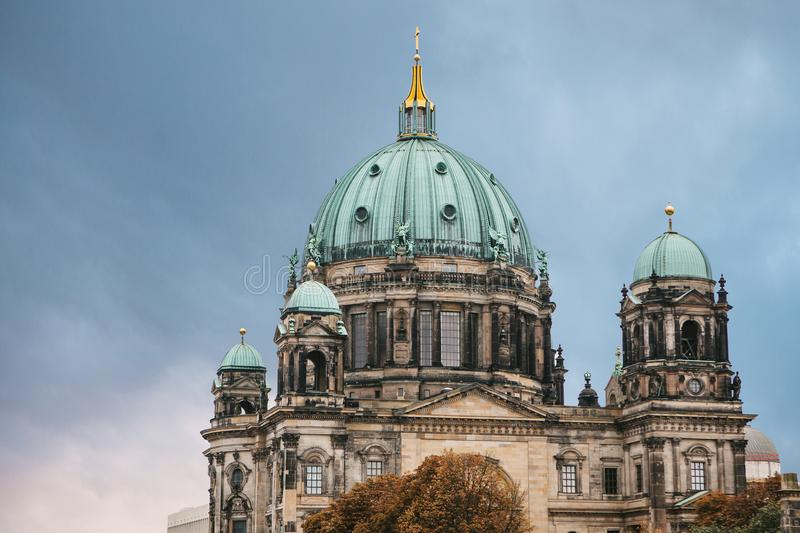 Собор Берлина вызван Dom Берлинца berlin Германия стоковые фотографии rf