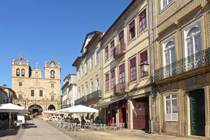 Собор Браги, Португалии стоковое изображение