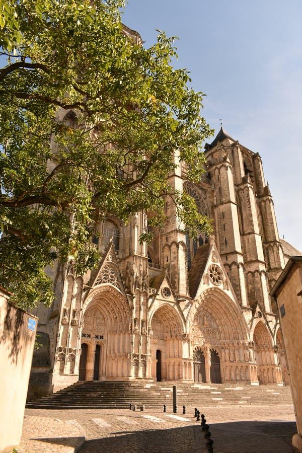 Собор Буржа - Франция стоковая фотография
