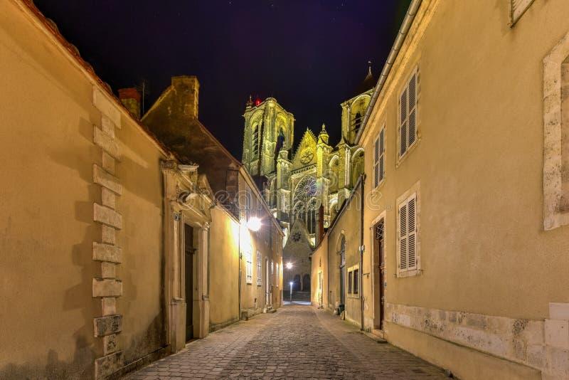 Собор Буржа - Франция стоковое фото rf