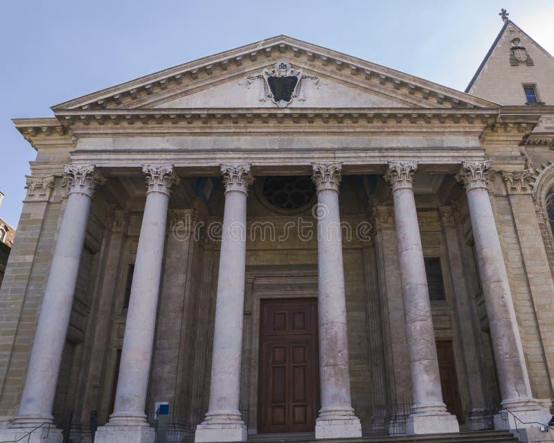 Собор в Женеве стоковая фотография