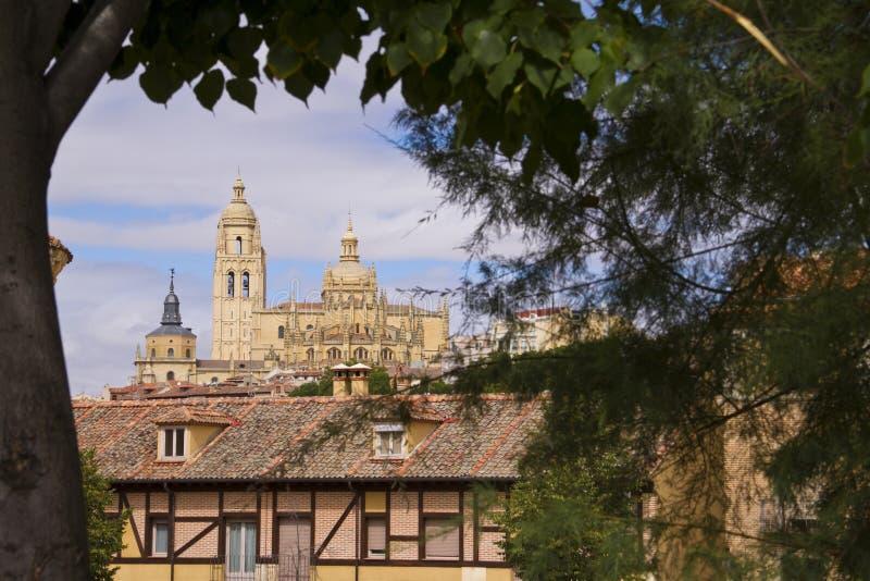собор в Испании. стоковое изображение rf
