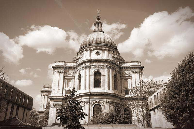 Собор в Лондоне стоковые фотографии rf
