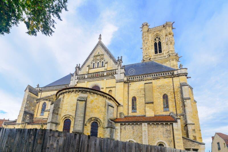 Собор в Невер стоковая фотография