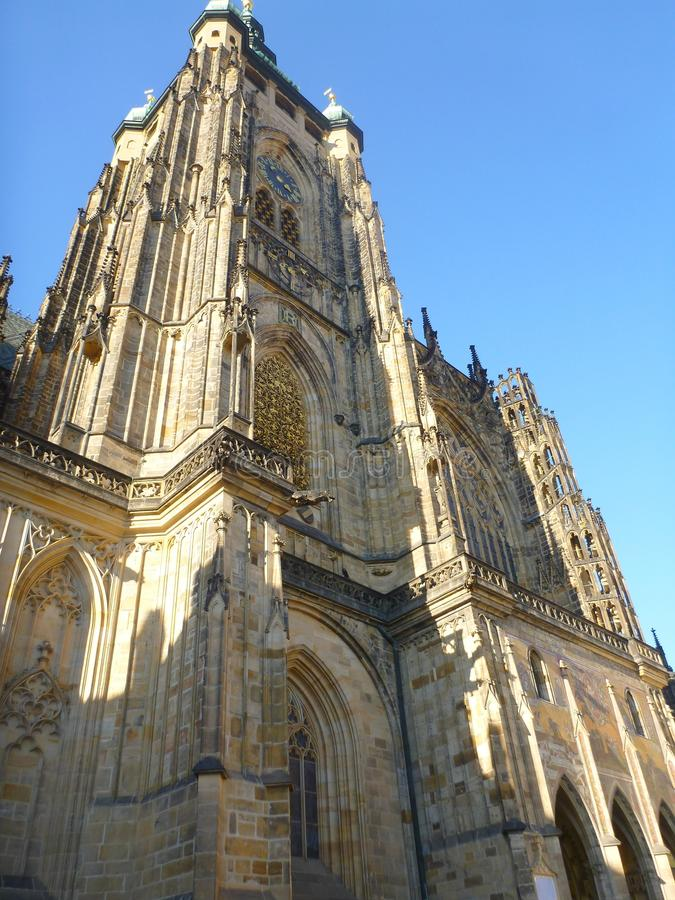 Собор в Праге стоковые фото