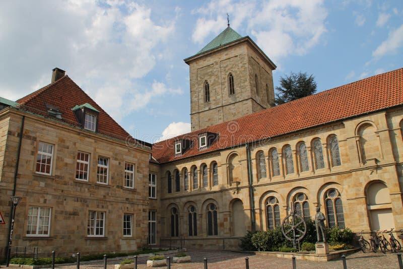 Собор в Osnabrück стоковая фотография rf