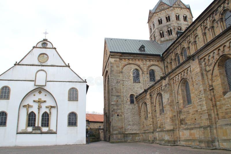Собор в Osnabrück стоковое фото