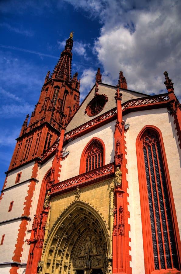 собор Германия wurzburg стоковые фото