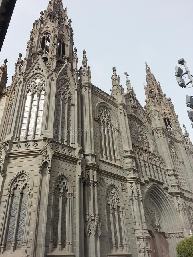 собор готский стоковое фото rf