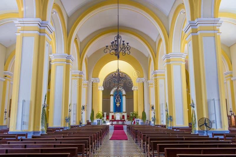 Собор Гранады в Никарагуа стоковая фотография rf
