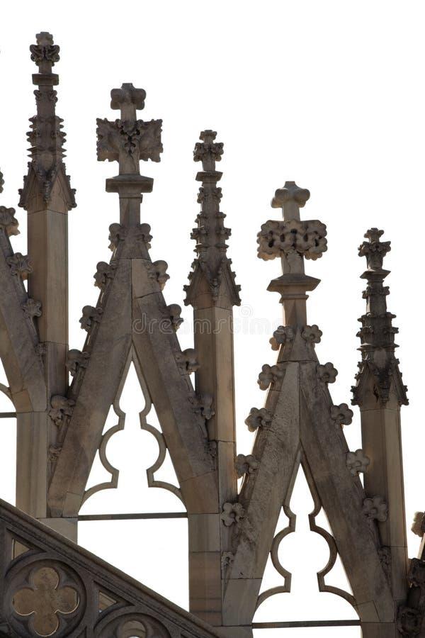 собор детализирует готское стоковая фотография rf