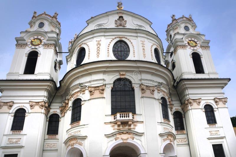 Собор Зальцбурга стоковое фото
