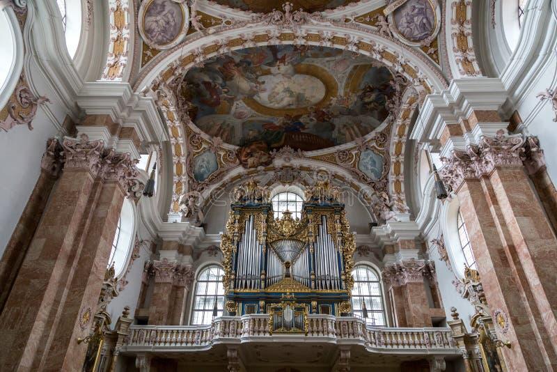 Собор Инсбрука, Австрия стоковая фотография