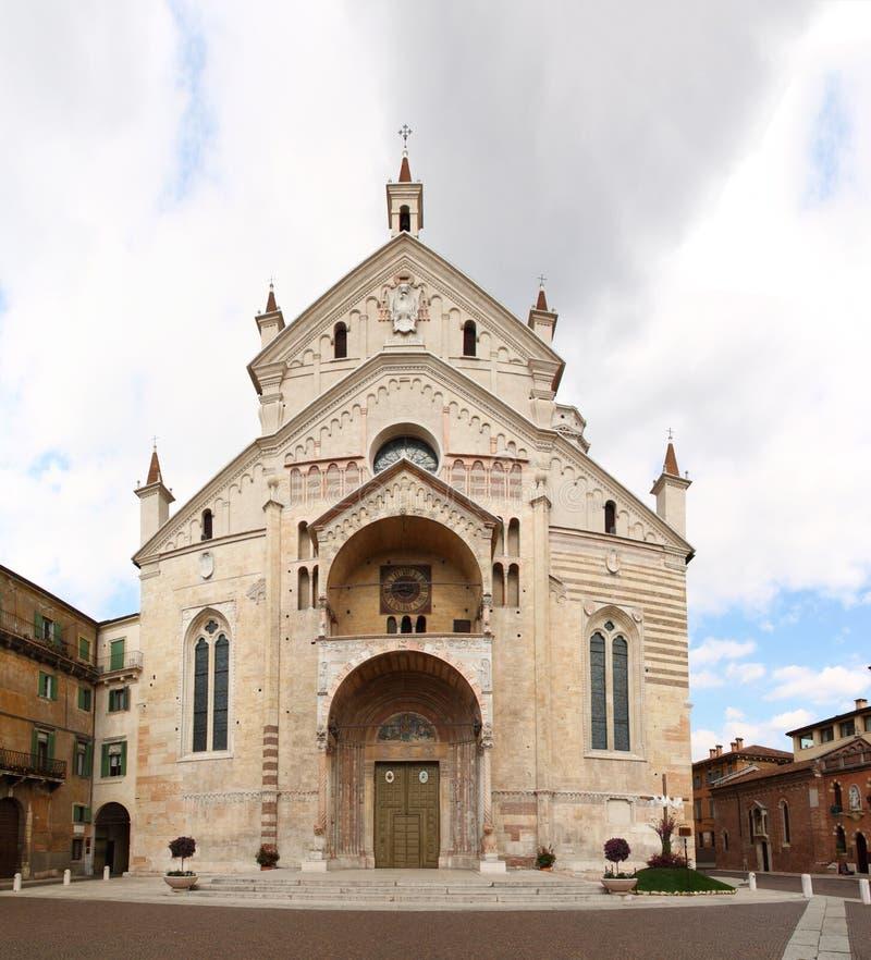 собор Италия verona стоковые изображения rf