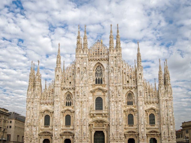Собор Италия милана стоковое изображение rf