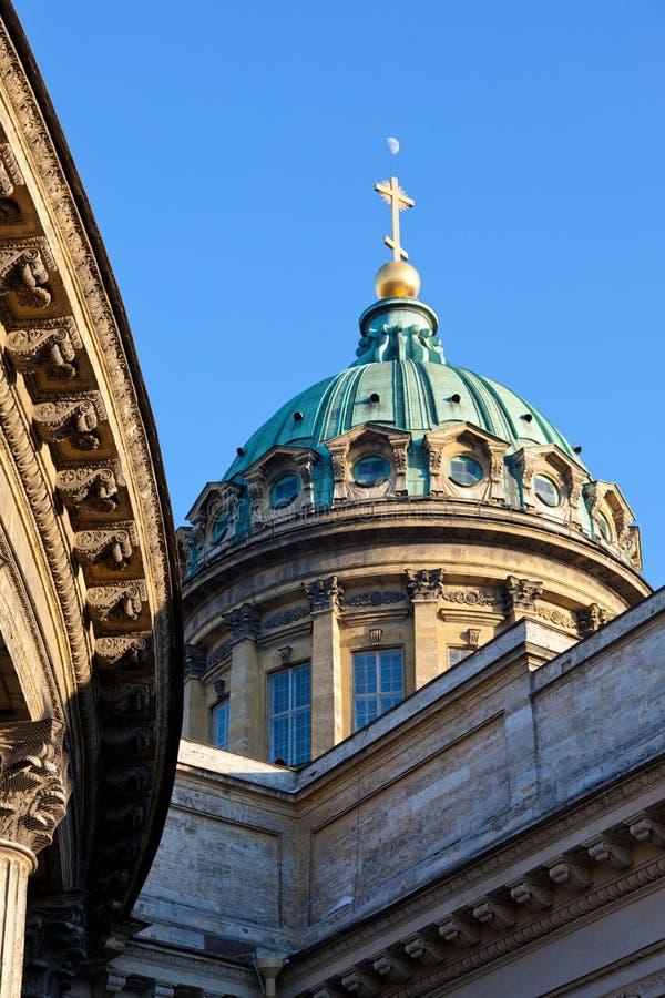 Собор Казани купола стоковое фото rf
