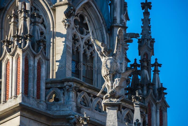 Собор Киев Украина St Nicholas римско-католический стоковые изображения rf