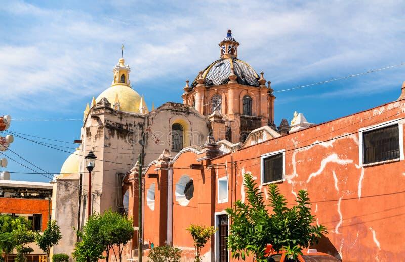 Собор леонов в Мексике стоковые фото