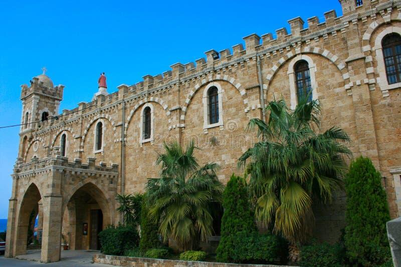 собор Ливан batroun правоверный стоковое фото