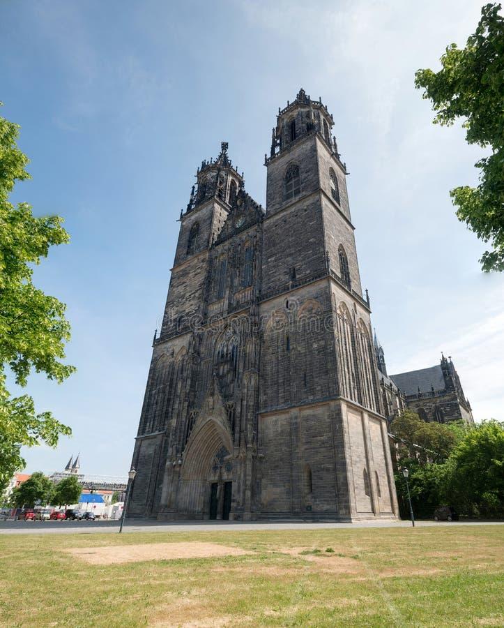 Собор Магдебурга стоковое изображение