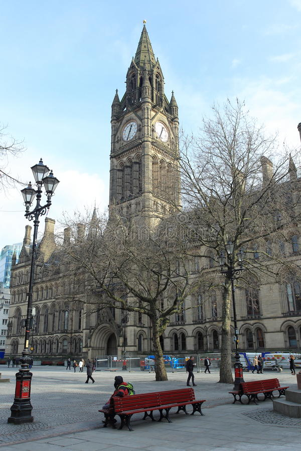 Собор Манчестера стоковые фотографии rf
