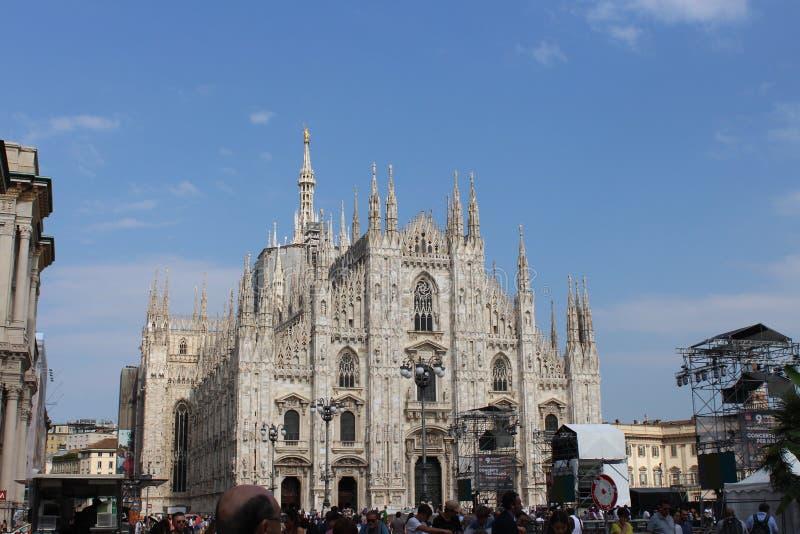 Собор Милана стоковые фото