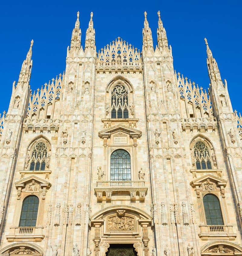 Собор милана & x28; Duomo Milano& x29; Италия стоковая фотография rf
