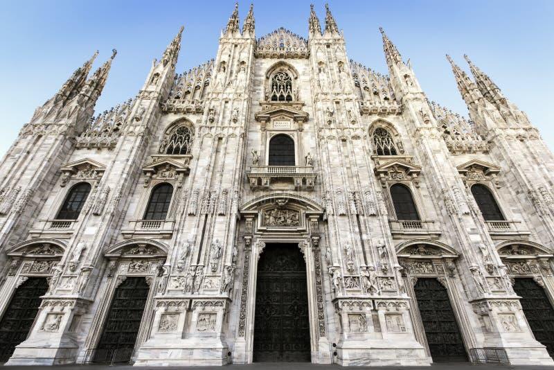 Собор Милана стоковое фото rf