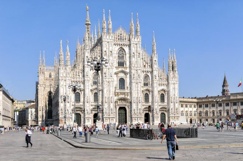 Собор милана, Duomo, Италия стоковые фотографии rf