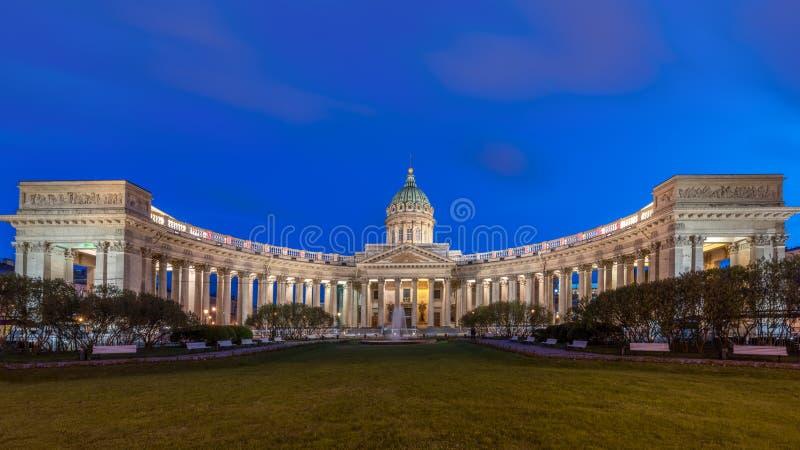 Собор нашей дамы Казани, Санкт-Петербурга стоковое изображение