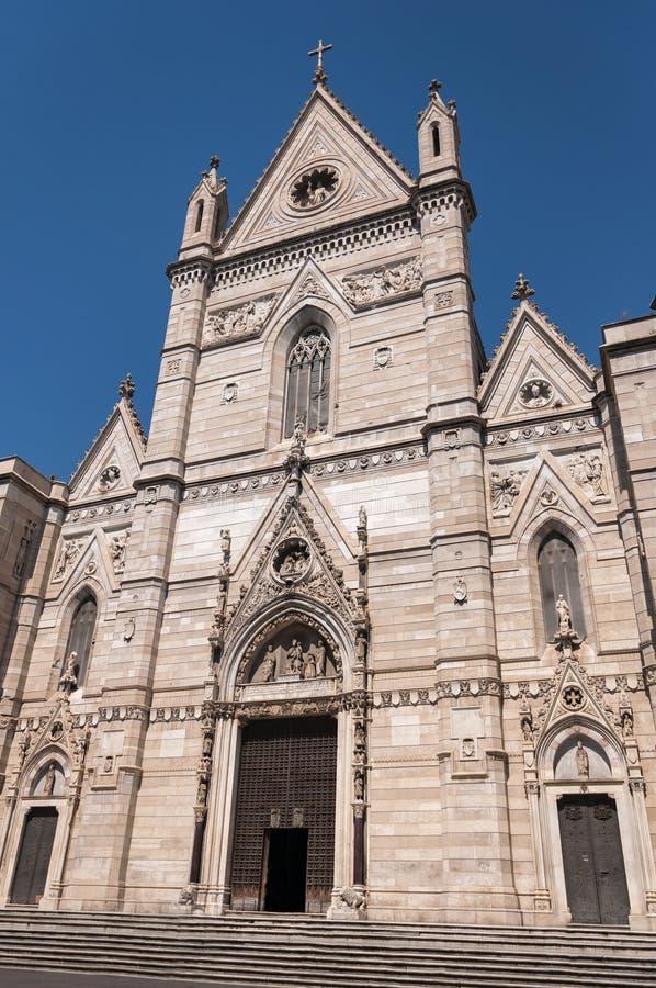 Собор Неаполь стоковые изображения