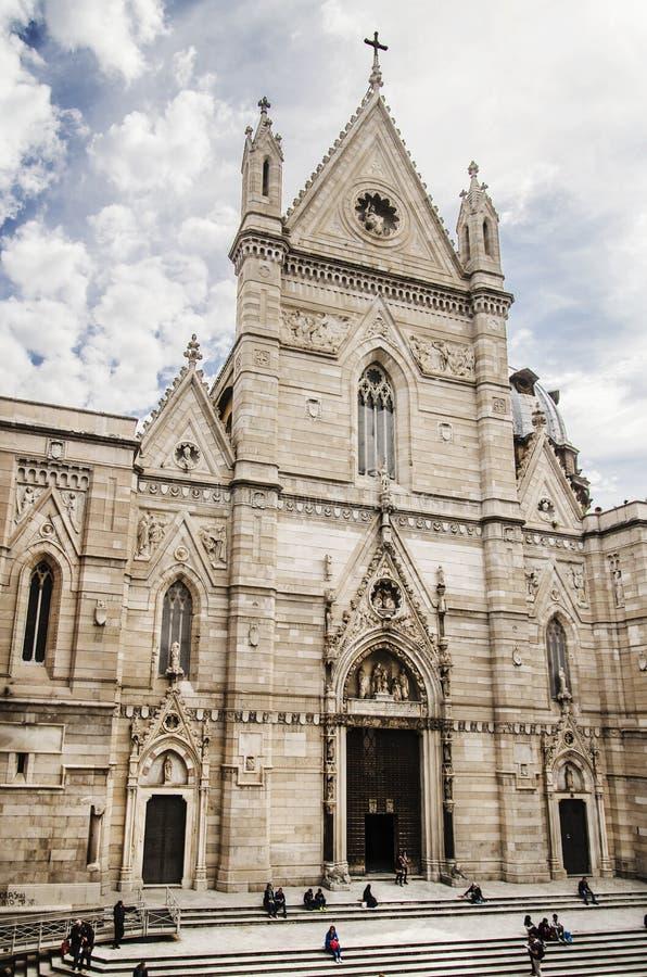 Собор Неаполь стоковое изображение rf