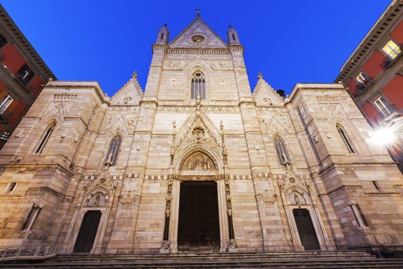 Собор Неаполь стоковое изображение