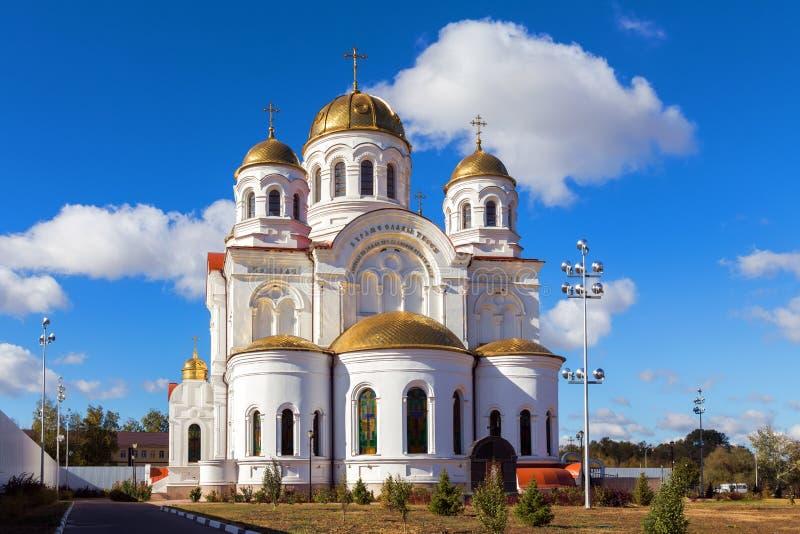 Собор Николаса Valuyki Россия стоковая фотография