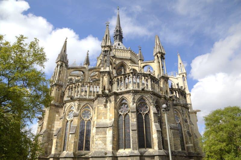 Собор Нотр-Дам de Реймса Франция reims стоковые фото