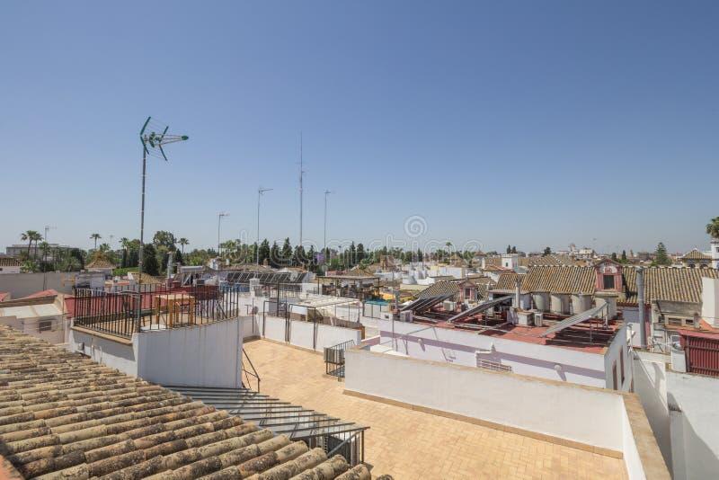 Собор от крыши стоковые изображения rf