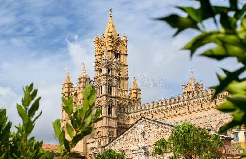 Собор Палермо в Палермо, Сицилии, Италии стоковые фото