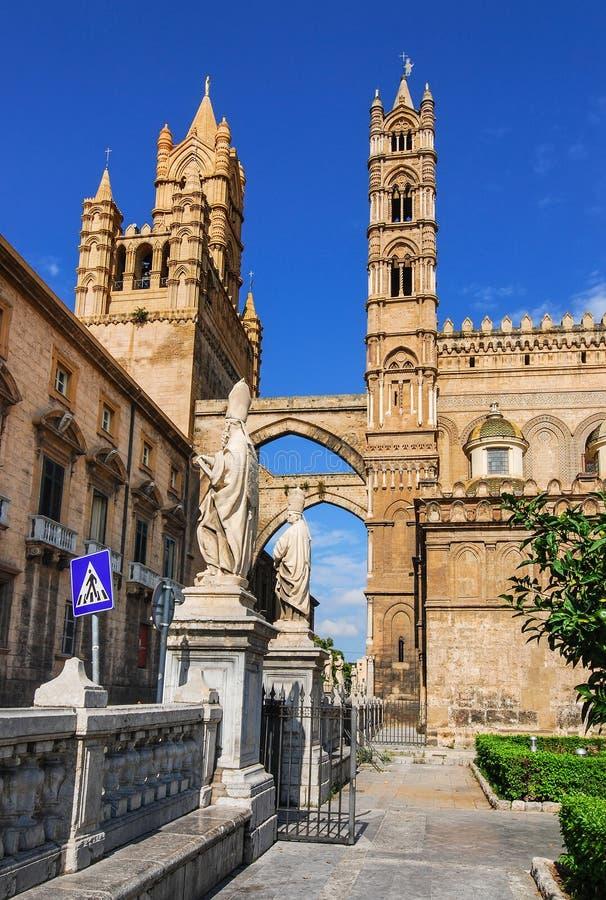 Собор Палермо, Сицилия стоковые фото