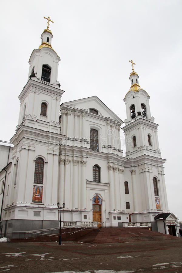 Собор предположения Витебска, Беларусь стоковые фотографии rf